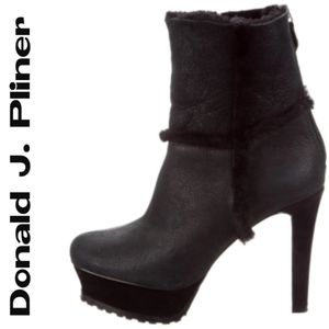 Donald J. Pliner & Lisa Platform Ankle Boots Sz. 8
